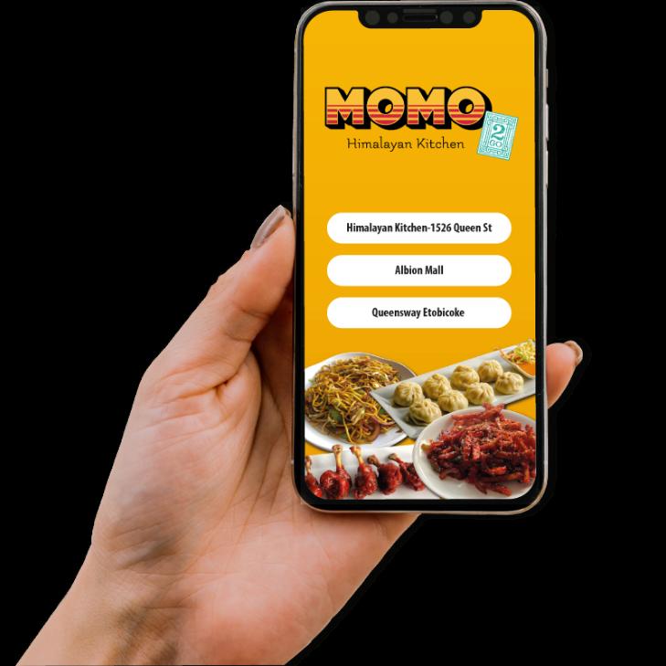 Momo2go - Hand Image