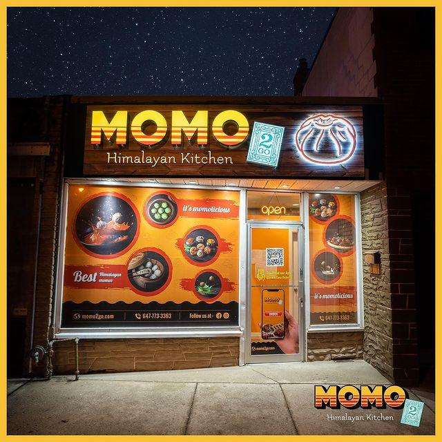 Momo2go - Momo2Go Queensway Exterior Nightshot